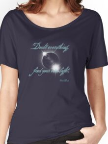 Buddha Quote - Find Your Own Light Women's Relaxed Fit T-Shirt