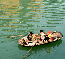 Halong Bay Kids by LaurieT