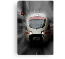 STOP - Back to the Future Canvas Print