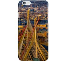 Leonard P. Zakim Bunker Hill Memorial Bridge iPhone Case/Skin
