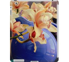 Blue Ball Pitcher Pitched iPad Case/Skin