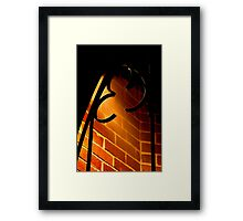 """The Light from Above"" Framed Print"