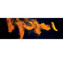 flames of orange Photographic Print