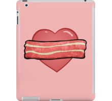 I love bacon. iPad Case/Skin