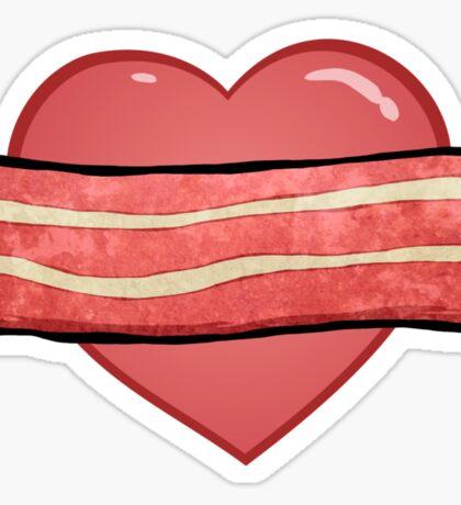 I love bacon. Sticker