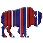 American Bison - Buffalo silhouette by surgedesigns