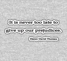 Never too late, Thoreau by Tammy Soulliere