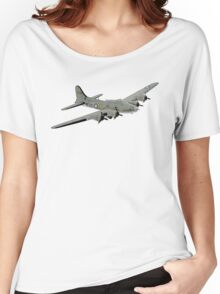 Boeing B-17 Flying Fortress Memphis Belle Women's Relaxed Fit T-Shirt