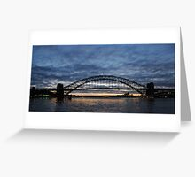 Sydney Harbour Sunrise Greeting Card