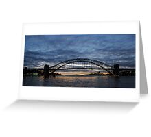 Sydney Harbour Sunrise Greeting Card