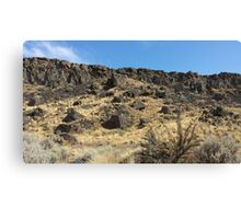 Cliffs at Vantage - Washington Canvas Print