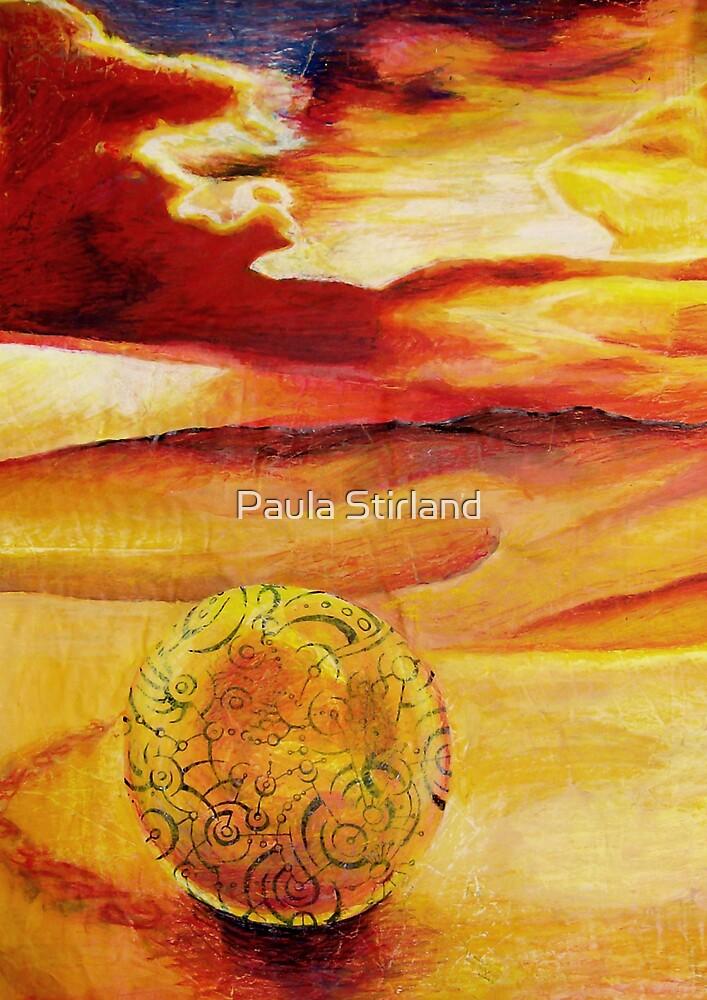 Leaving tracks by Paula Stirland