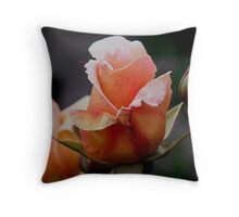 photoj Flora 'Pink bud' Throw Pillow