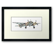 Junkers Ju 88 Bomber Airplane Framed Print