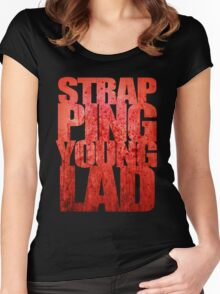 Strapping Young Lad Women's Fitted Scoop T-Shirt