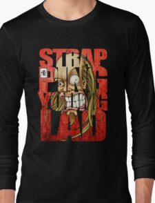 Devin Townsend Strapping Young Lad Red Letters 2 Long Sleeve T-Shirt