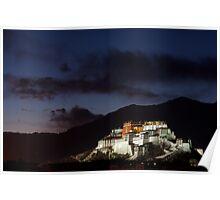 Potala Palace, Lhasa. Tibet Poster