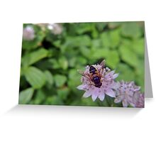 Drone Flower Greeting Card