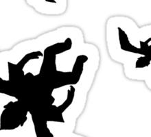 flying monkeys Sticker