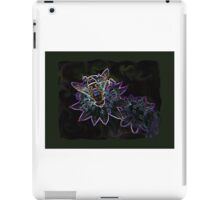 Drone Flower B iPad Case/Skin