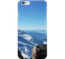 View of Glacier and Rainier from Baker iPhone Case/Skin