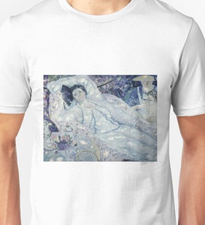Frederick Carl Frieseke - The Hammock Unisex T-Shirt