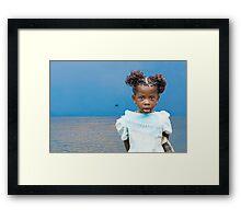 Burberry Girl Congo Framed Print