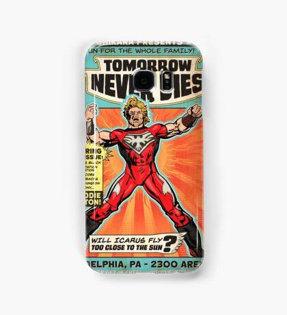 CHIKARA's Tomorrow Never Dies - Official Wrestling Poster Samsung Galaxy Case/Skin