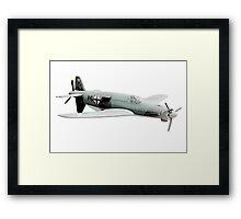 Dornier 335 airplane Framed Print