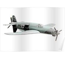 Dornier 335 airplane Poster
