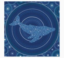 Cetus (whale) Constellation Mandala Kids Clothes