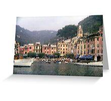 Portofino - impressionism Greeting Card