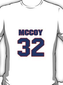 Basketball player Jelani McCoy jersey 32 T-Shirt