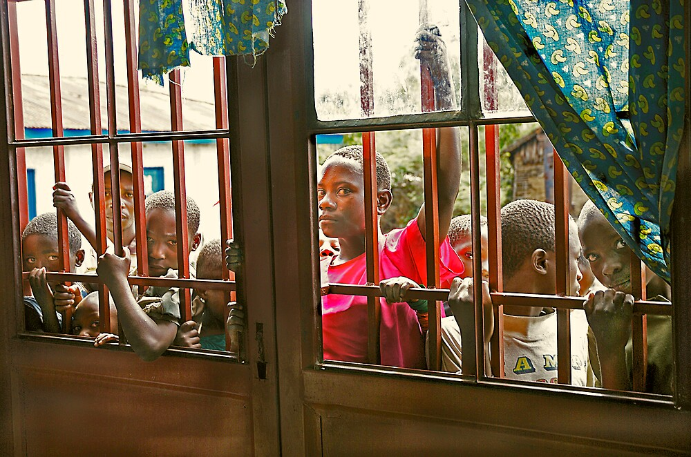 'Displaced people' Democratic Republic of Congo by Melinda Kerr
