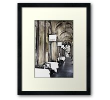 'Your Table is Waiting'  Framed Print