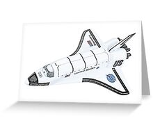 NASA Space Shuttle Greeting Card