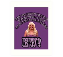 Jimmy Fallon EW! Art Print