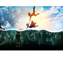 Bioshock Two Worlds Collide Photographic Print