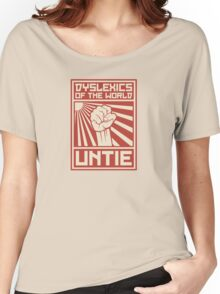 Dyslexics of the World UNTIE Women's Relaxed Fit T-Shirt