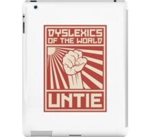 Dyslexics of the World UNTIE iPad Case/Skin