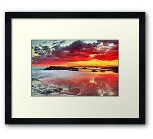 Nature's Lightshow Framed Print