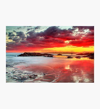 Nature's Lightshow Photographic Print
