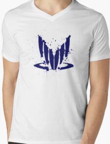 Splatter spectre Mens V-Neck T-Shirt