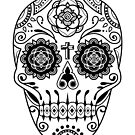 Deco Sugar Skull 2 by qetza
