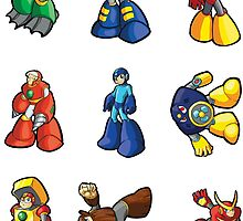 Mega Man 2 - Sticker Sheet Collection by 57MEDIA