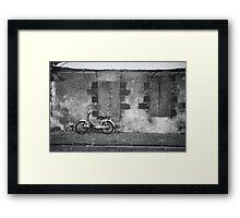 A bike Framed Print