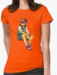 HxH - Cap Womens Fitted T-Shirt