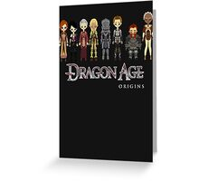 Dragon Age Origins Party Greeting Card
