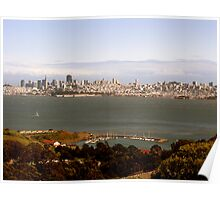 San Francisco Skyline Poster