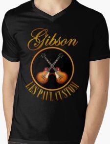 Les Paul Custom Mens V-Neck T-Shirt